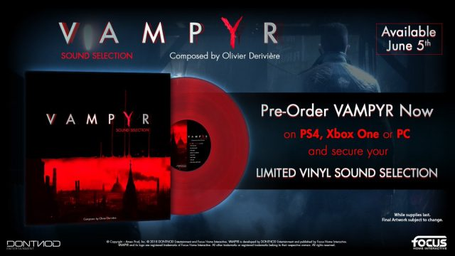 Vampyr Vinyl Soundtrack Available with Preorder | Fextralife