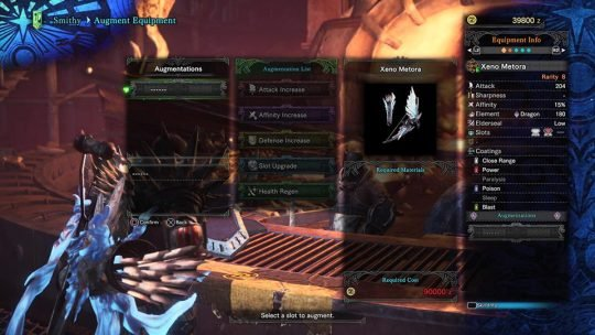 Monster Hunter World: Augments and You