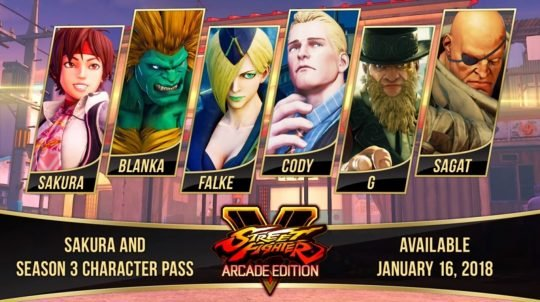 Falke to Arrive in Street Fighter V: Arcade Edition on April 24th