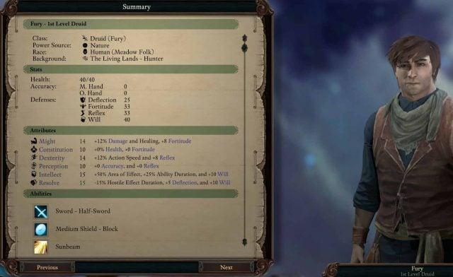 Pillars of Eternity 2 Deadfire Guide: Druid   Fextralife