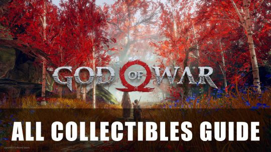 God of War 2018 100% All Collectibles Guide