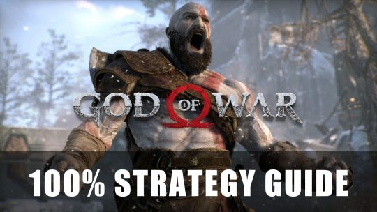 God of War 2018 100% Strategy Guide