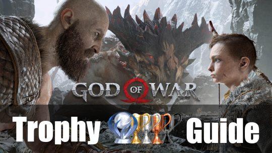 God of War Trophy Guide & Roadmap (2018)