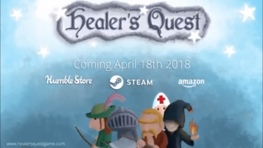 Comedic RPG Healer's Quest is out on Steam this month