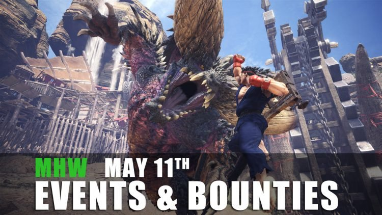 Monster Hunter World: Event Quests 5/11/18 to 5/17/18