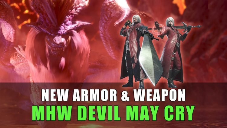 Monster Hunter World: Devil May Cry Event