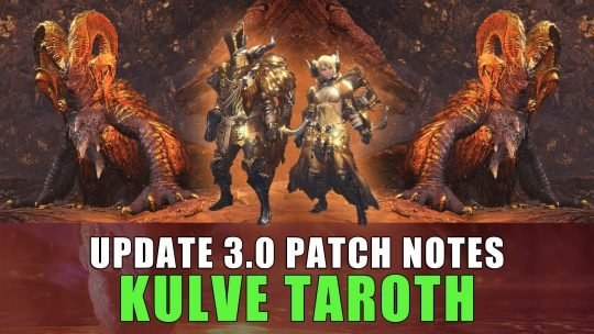 Monster Hunter World Update 3.00 Patch Notes & 2nd Spring Update