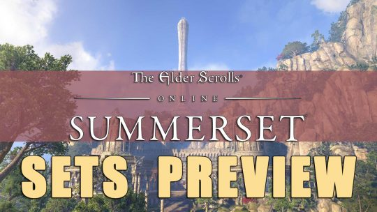 ESO Summerset Sets and Itemization Preview