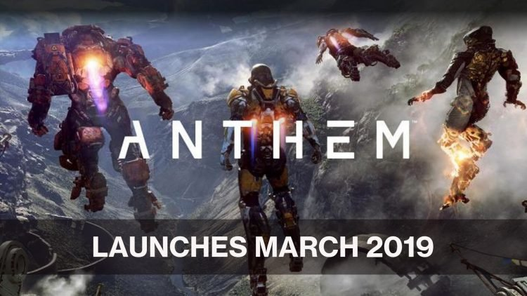 Bioware's Anthem Release Month Announced for March 2019