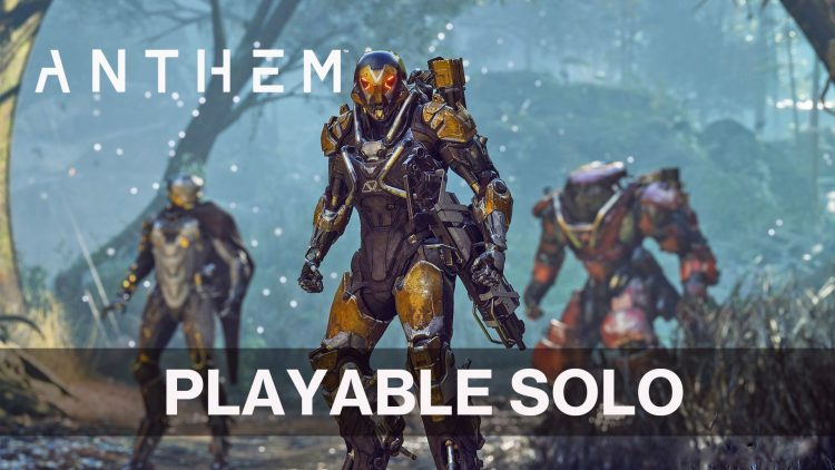 Bioware's Anthem Will Have a Single Player Mode