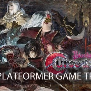 Bloodstained: Curse of the Moon, trailer du jeu de plateforme action en 8-bit à la sauce Castlevania