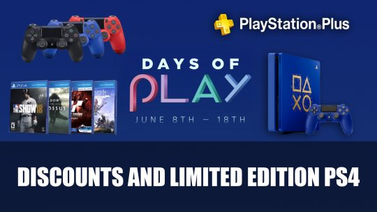 Playstation's Days of Play Event Returns in June with Limited Edition PS4