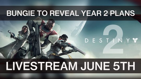 Bungie to Reveal What's Coming for Destiny in Year 2 Next Week
