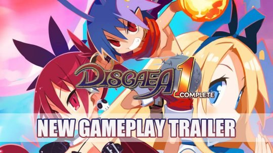 Disgaea 1 Complete for PS4 and Switch Release Trailer with Improved Graphics