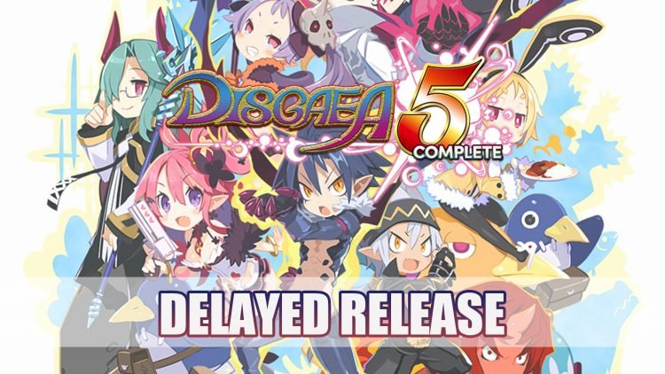Disgaea 5 Complete Delayed for PC and NIS America Demo Pulled