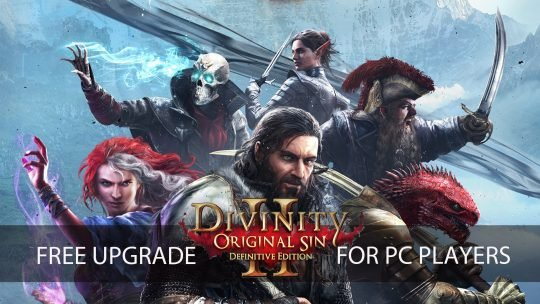 Divinity: Original Sin 2 PC Players Will Receive the Definitive Edition As a Free Upgrade