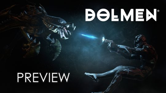 Dolmen Preview – When Mass Effect Meets Dark Souls