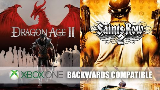 Dragon Age 2 and Saints Row 2 Gets Backwards Compatibility for Xbox One