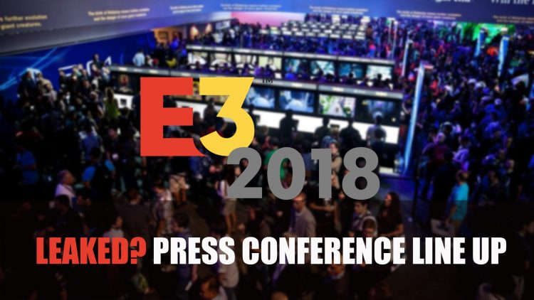 What if this crazy allegedly leaked E3 lineup is true?