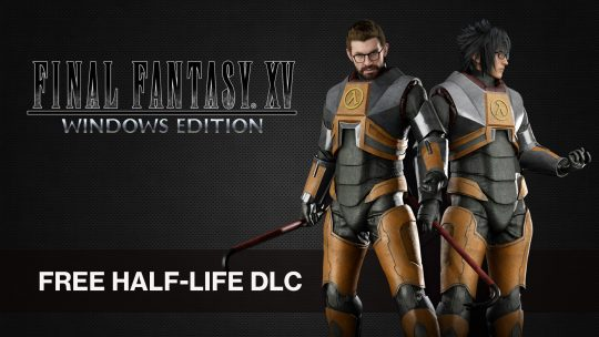 Final Fantasy XV: Windows Edition Half-Life Costume DLC is Now Free
