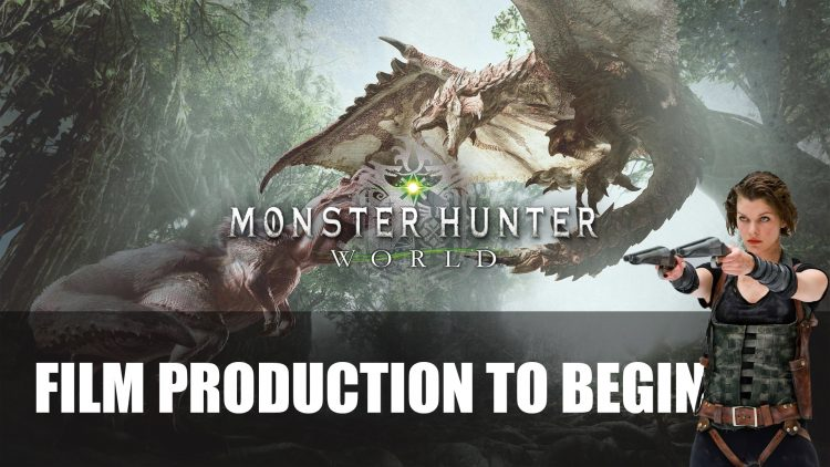 Monster Hunter Film Adaptation To Be Directed by Paul W.S. Anderson and Begins Production in September