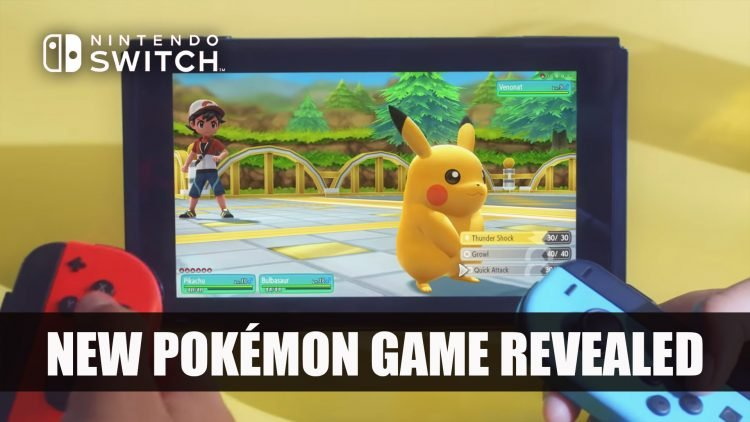 Nintendo Reveals Let's Go, Pikachu! and Let's Go Eevee! for Nintendo Switch