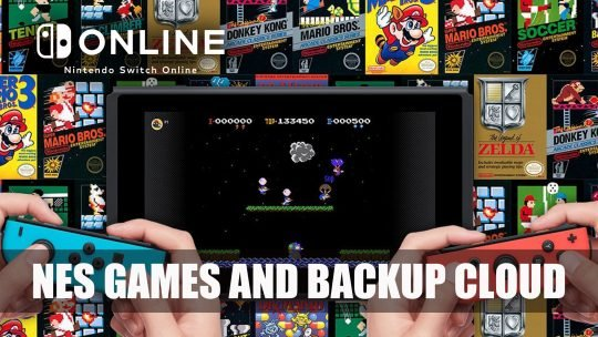 Nintendo Switch Online Service will Come with 20 NES Games and Cloud Services
