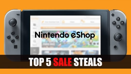 Nintendo Switch US Eshop Top 5 Sale Steals