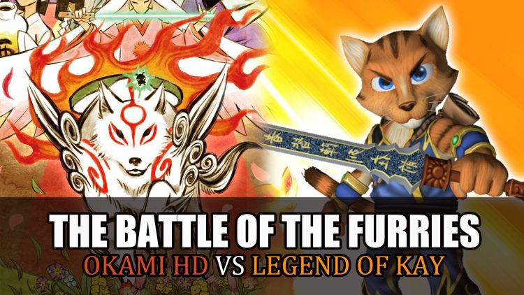 Okami HD VS. Legend of Kay Anniversary – Battle of the Furries