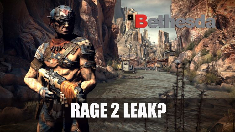Bethesda Turn Rage 2 Leak into a Joke without Denying Sequel