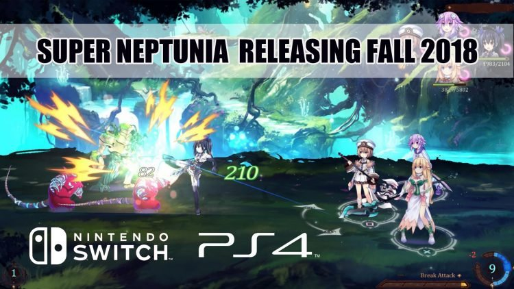 Brave Neptunia Gets Renamed Super Neptunia for West Release on PS4 and Switch Fall 2018