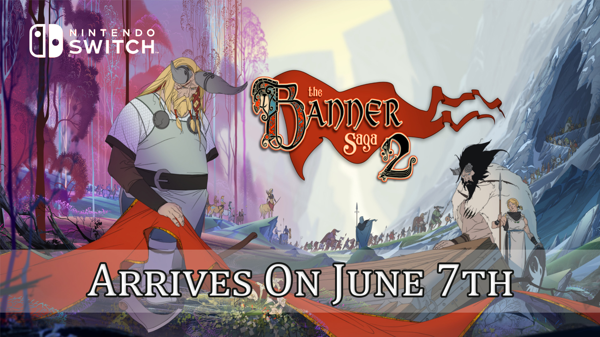 The Banner Saga 2 Will Continue The Series On Nintendo Switch In June Fextralife