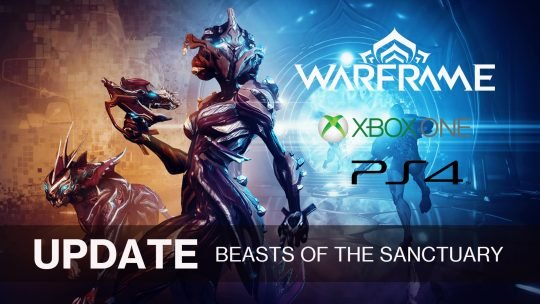 New Warframe Update Available for Consoles – Beasts of the Sanctuary