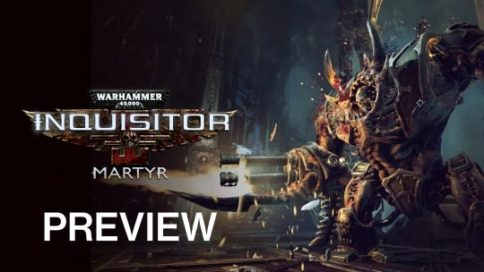 Warhammer 40,000 Inquisitor – Martyr Preview