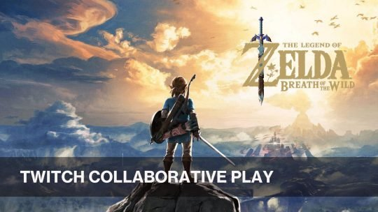 Twitch Viewers Play Zelda Breath of the Wild Collaboratively