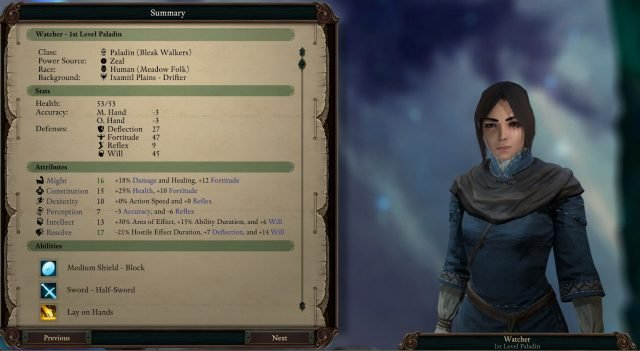 Pillars Of Eternity 2 Class Guide: Paladin   Fextralife