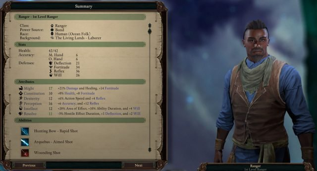 big discount new images of most popular Pillars of Eternity 2 Deadfire Guide: Ranger | Fextralife
