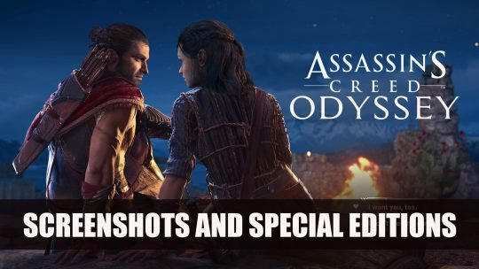 Assassin's Creed Odyssey Shares new Screenshots in 4K Showing Romance, Choices, Skill Tree and More Plus Special Editions