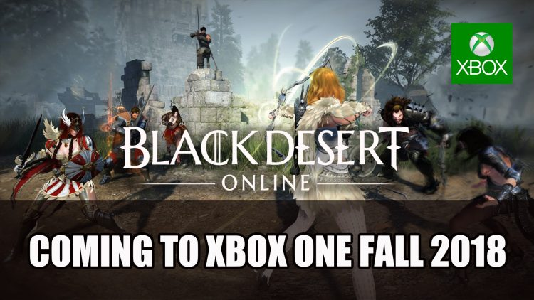 Black Desert Online Comes to Xbox One Beta Fall 2018