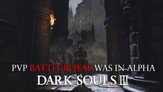 Dark Souls 3 Data Miner Discovers Possible Cut PvP Mode