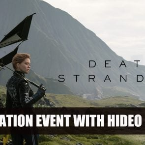 Interview pour Death Stranding, avec Hideo Kojima et Hermen Hulst pendant un livestream Playstation à l'E3 2018