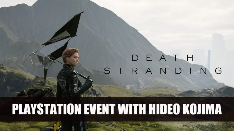Death Stranding Interview with Hideo Kojima and Hermen Hulst in Playstation Livestream E3 2018