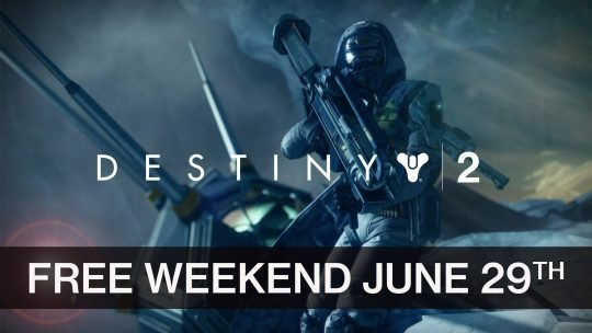 Destiny 2 Gets a Free Weekend on PS4 on June 29th