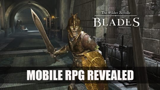 Bethesda Announce New Mobile RPG Elder Scrolls Blades