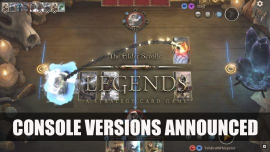 Elder Scrolls Legends Comes to All Platforms with Crossover Progression