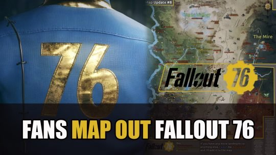 Fallout 76 Fans Make Full Pre-Release World Map