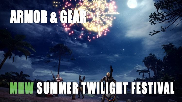 MHW: Summer Twilight Festival & Its Contents