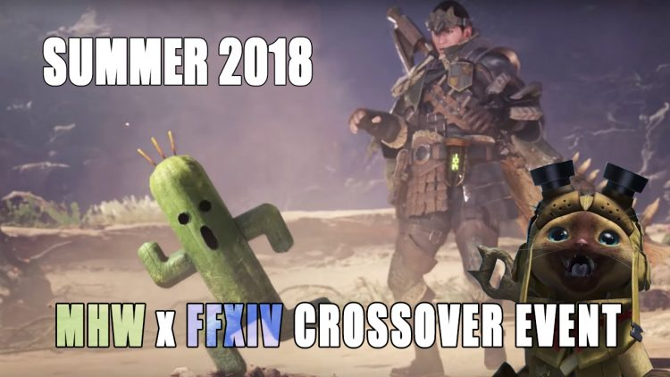 Final Fantasy XIV Monster Hunter World Collaboration