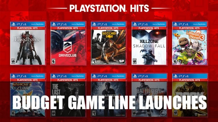Sony Launches Playstation Hits a Budget Game Range