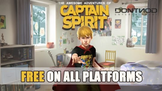The Awesome Adventures of Captain Spirit Now Available for Free